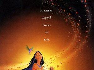 plakat filmu Pocahontas