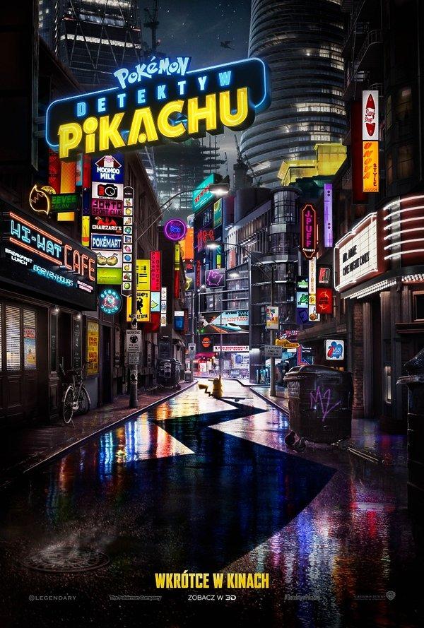 plakat filmu Pokémon: Detektyw Pikachu