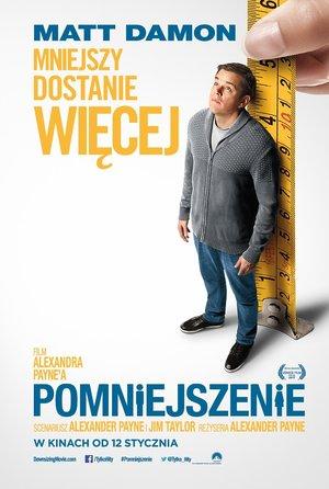 plakat filmu Pomniejszenie, Downsizing