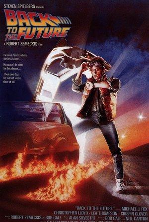 plakat filmu Powrót do przyszłości. Robert Zemeckis