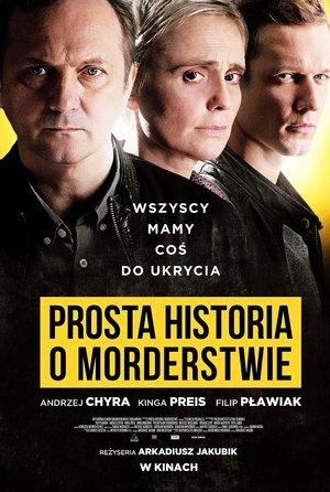 plakat filmu Prosta historia o morderstwie, Kino Świat, Foto: Krzysztof Wiktor