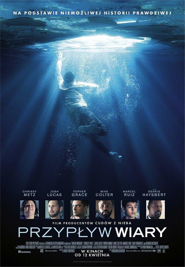 plakat filmu Przypływ wiary