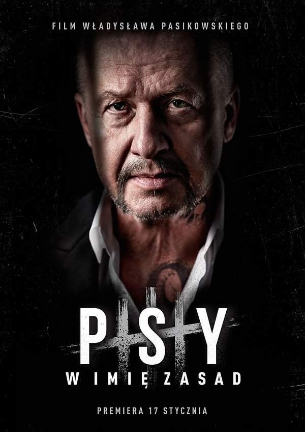plakat filmu Psy 3. W imię zasad. Władysław Pasikowski
