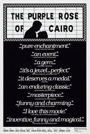 plakat filmu Purpurowa róża z Kairu