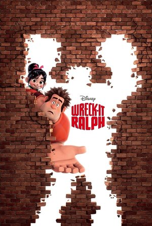 plakat filmu Ralph Demolka. Wreck-It Ralph