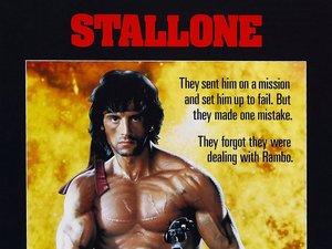 plakat filmu Rambo: Pierwsza krew