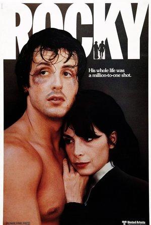 Plakat filmu Rocky. Sylvester Stallone