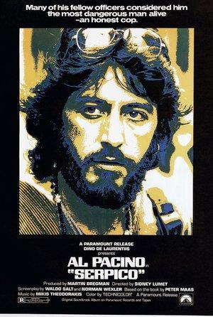 plakat filmu Serpico
