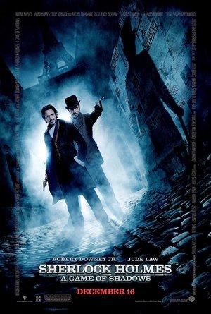 plakat filmu Sherlock Holmes: Gra cieni. Robert Downey Jr., Jude Law