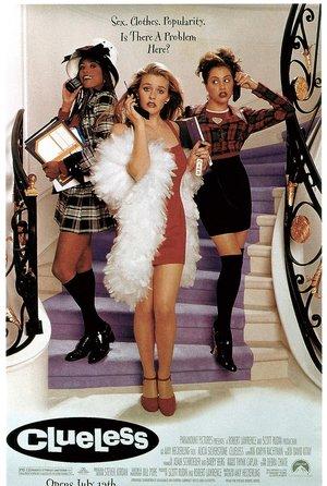 plakat filmu Słodkie zmartwienia, Clueless. Amy Heckerling