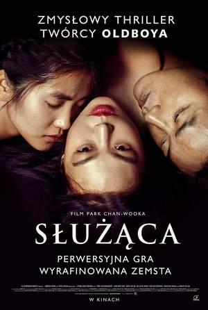 plakat filmu Służąca, reż. Chan-wook Park