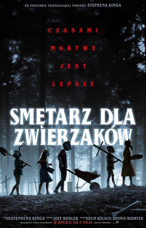 plakat filmu Smętarz dla zwierzaków