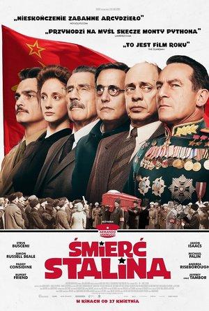 plakat filmu Śmierć Stalina
