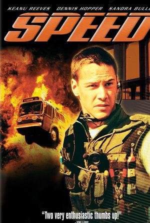 plakat filmu Speed: Niebezpieczna prędkość