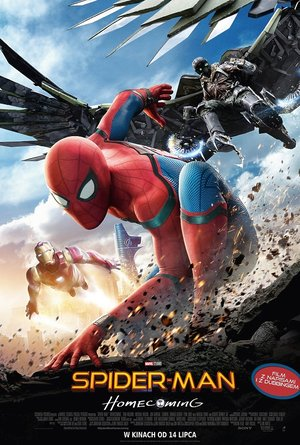 plakat filmu Spider-Man Homecoming. United International Pictures, TylkoHity.pl