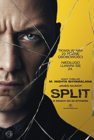 plakat filmu Split. United International Pictures, TylkoHity.pl