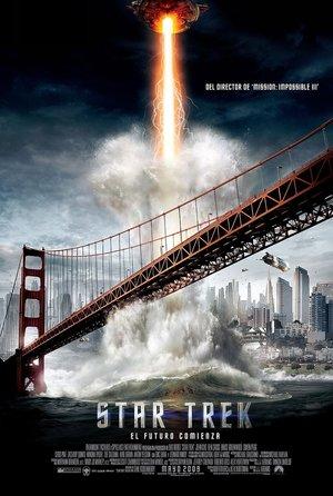 plakat filmu Star Trek (2009), J.J. Abrams