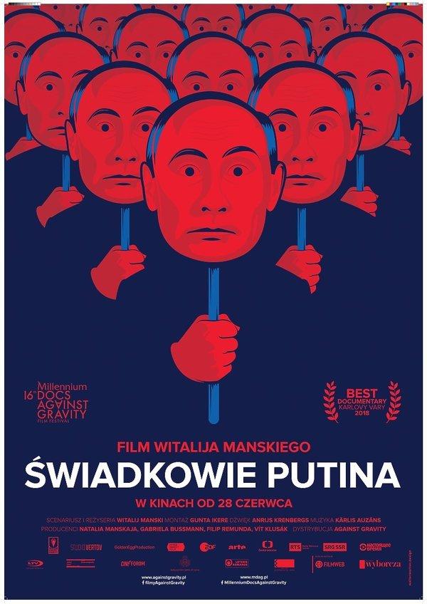 plakat filmu Świadkowie Putina