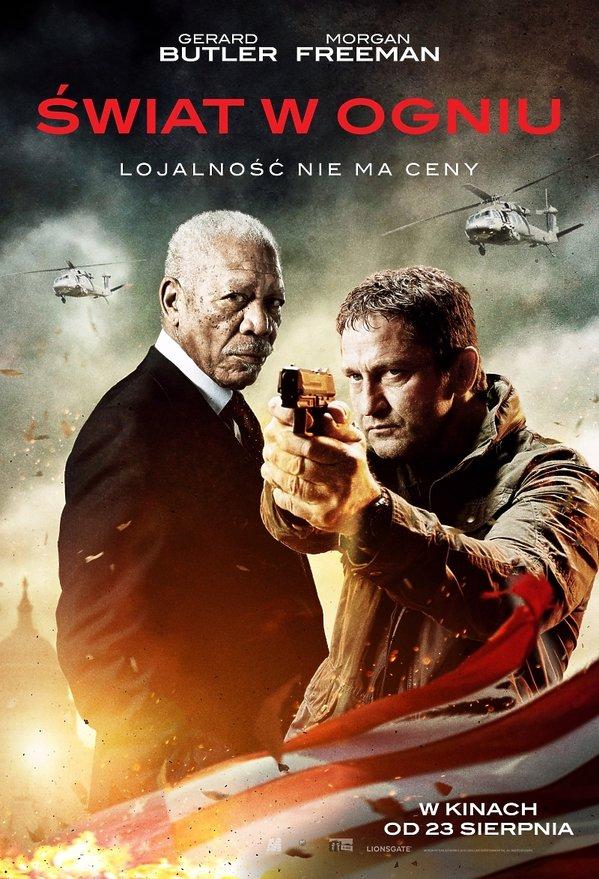 plakat filmu Świat w ogniu