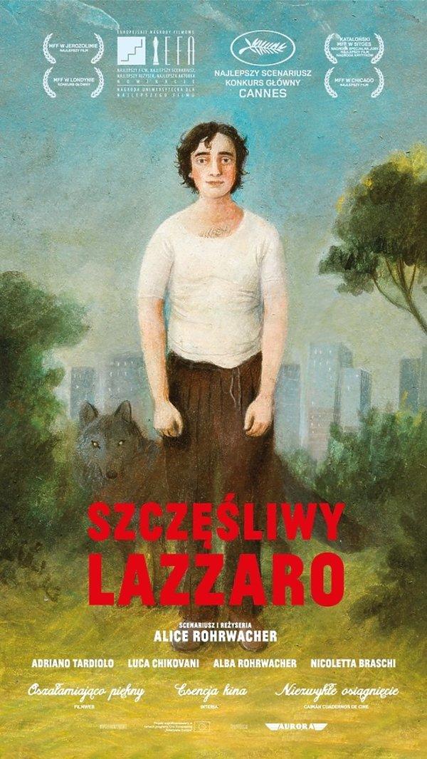 plakat filmu Szczęśliwy Lazzaro