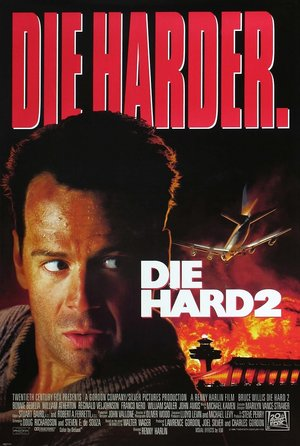 plakat filmu Szklana pułapka 2