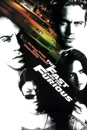 plakat filmu Szybcy i wściekli