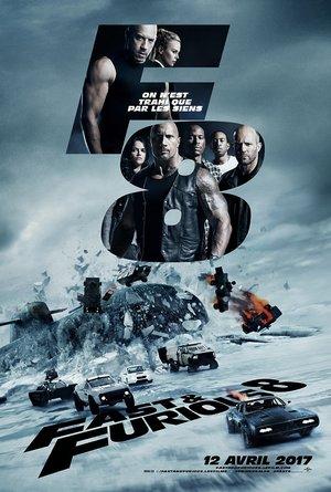plakat filmu Szybcy i wściekli 8