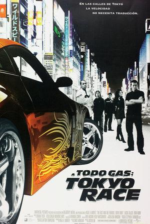 plakat filmu Szybcy i wściekli: Tokyo Drift