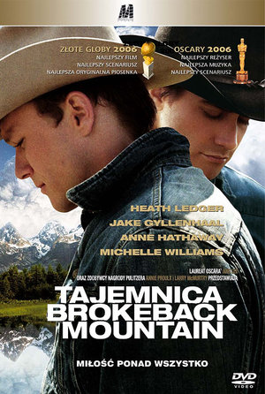 plakat filmu Tajemnica Brokeback Mountain/Monolith Video