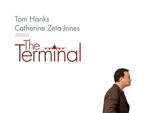 plakat filmu Terminal, Steven Spielberg
