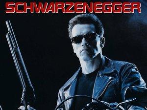 plakat filmu Terminator 2: Dzień sądu. James Cameron