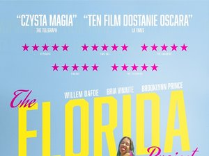plakat filmu The Florida Project. M2 Films