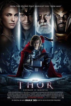 plakat filmu Thor