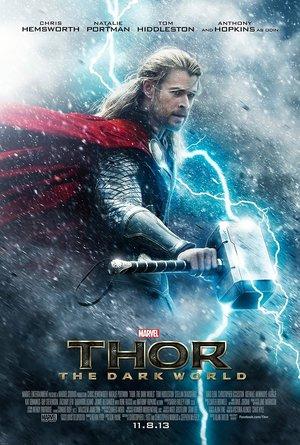 plakat filmu Thor: Mroczny świat
