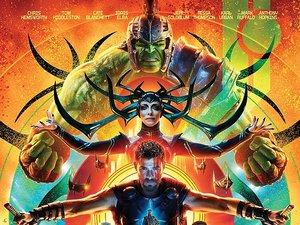 plakat filmu Thor: Ragnarok. Disney