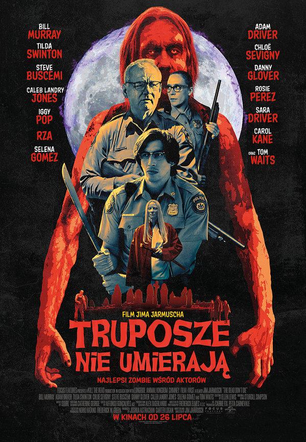 plakat filmu Truposze nie umierają