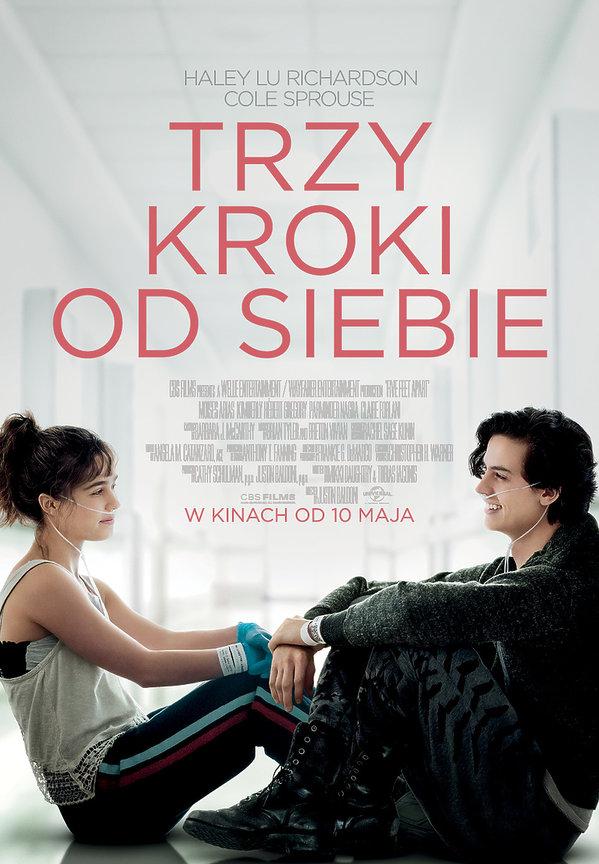 plakat filmu Trzy kroki od siebie