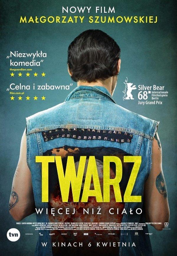 Plakat filmu Twarz