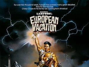 plakat filmu W krzywym zwierciadle: Europejskie wakacje