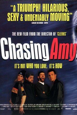 plakat filmu W pogoni za Amy. Kevin Smith
