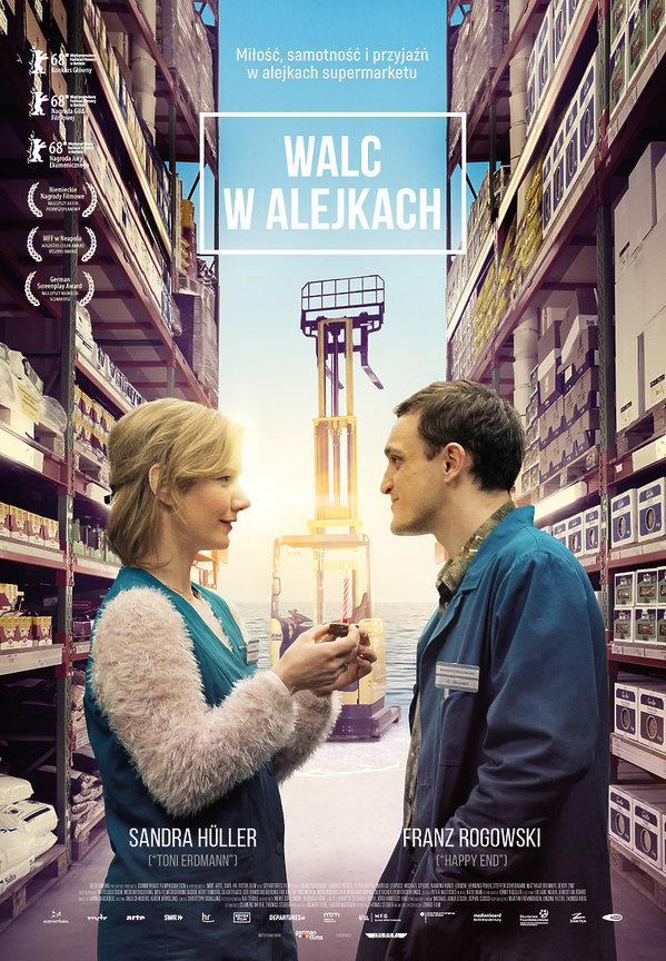 plakat filmu Walc w alejkach