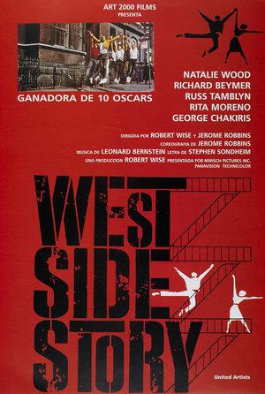 plakat filmu West Side Story