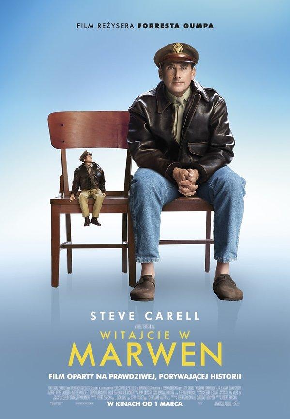 plakat filmu Witajcie w Marwen