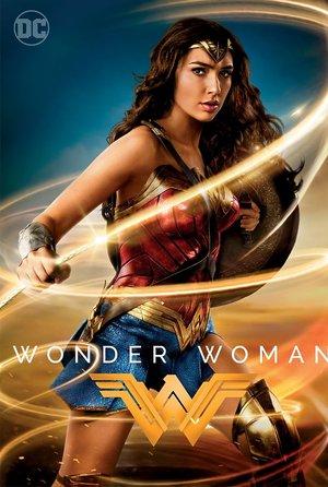 plakat filmu Wonder Woman. Galapagos Films
