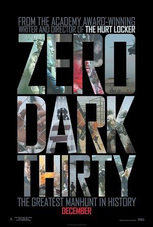 plakat filmu Wróg numer jeden, Zero Dark Thirty