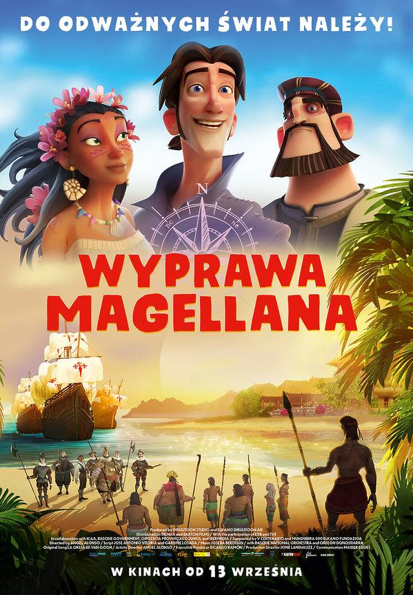 plakat filmu Wyprawa Magellana