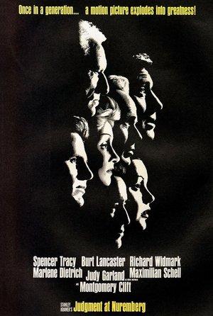 plakat filmu Wyrok w Norymberdze