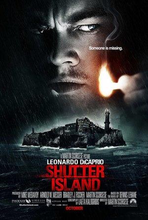 plakat filmu Wyspa tajemnic. Leonardo Di Caprio