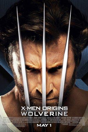 plakat filmu X-Men Geneza: Wolverine. Hugh Jackman