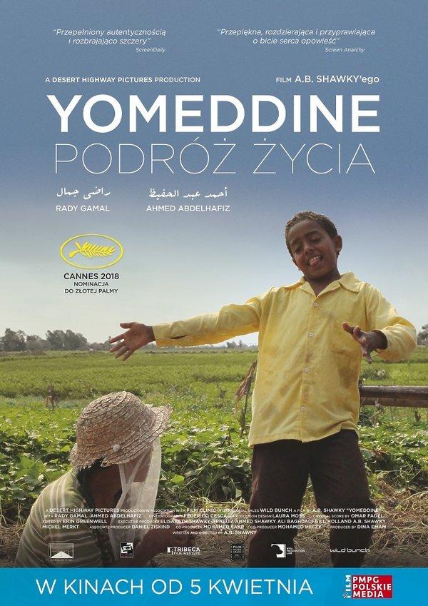 plakat filmu Yomeddine. Podróż życia
